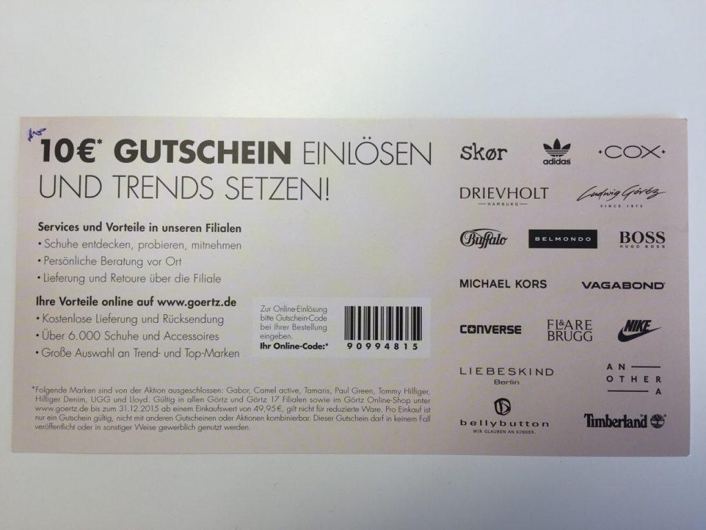 Goertz Gutschein Oktober 2020 | 20% Gutscheincode