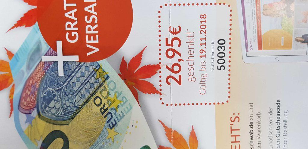 Schwab Gutschein Juni 2019 1695 Euro Rabatt